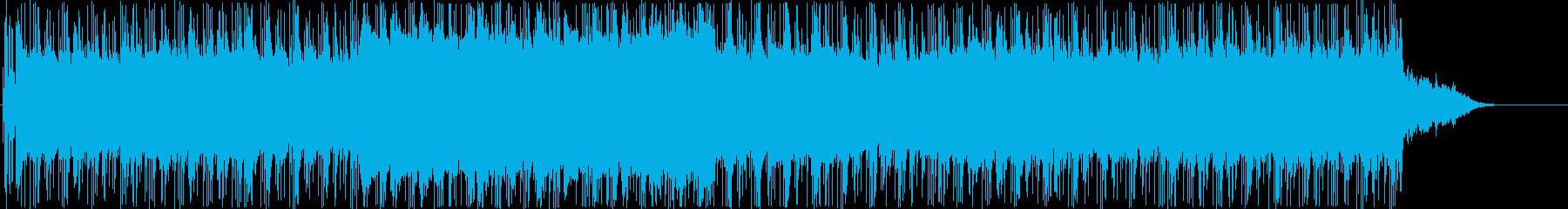 追跡 挑戦 闘志 スリル スピードの再生済みの波形