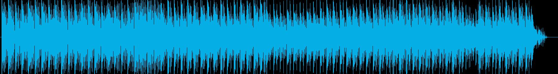 リズミカルで爽やかなポップスの再生済みの波形