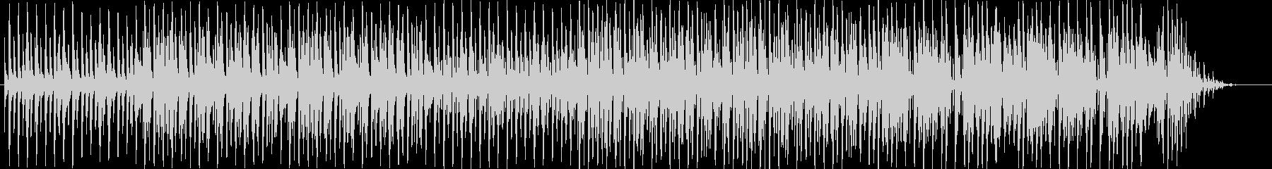 のんびりした日常系ループBGMの未再生の波形