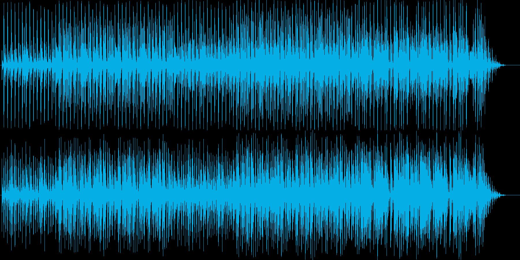 のんびりした日常系ループBGMの再生済みの波形
