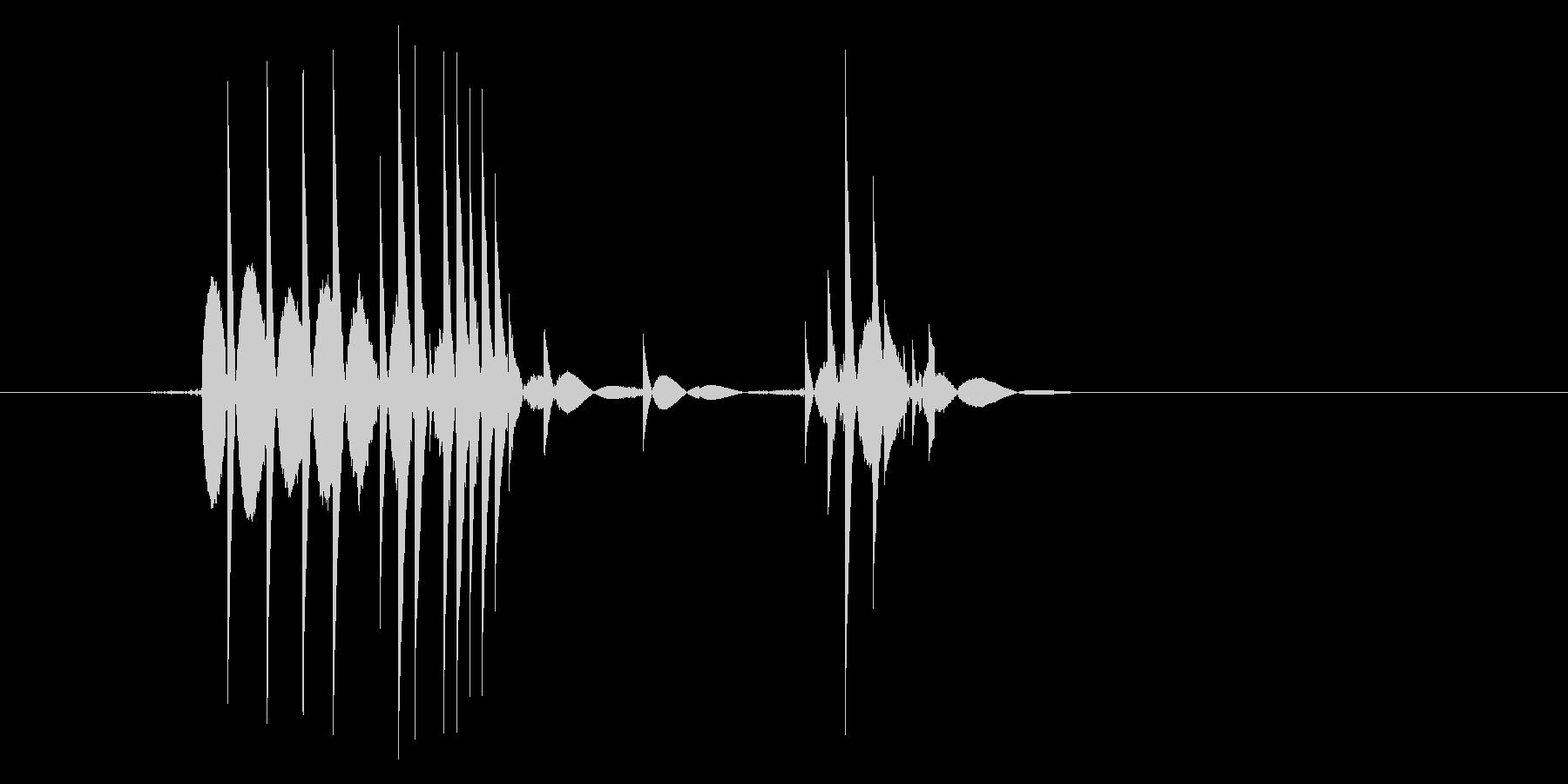 ゲーム(ファミコン風)爆発音_016の未再生の波形