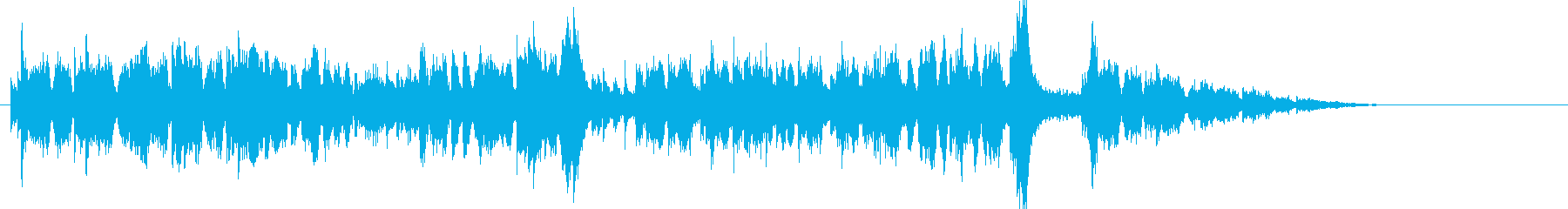 アグレッシブで躍動感あるオーケストラの再生済みの波形