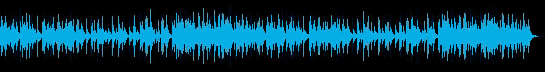 オルゴール 待合室 リラクゼーションの再生済みの波形