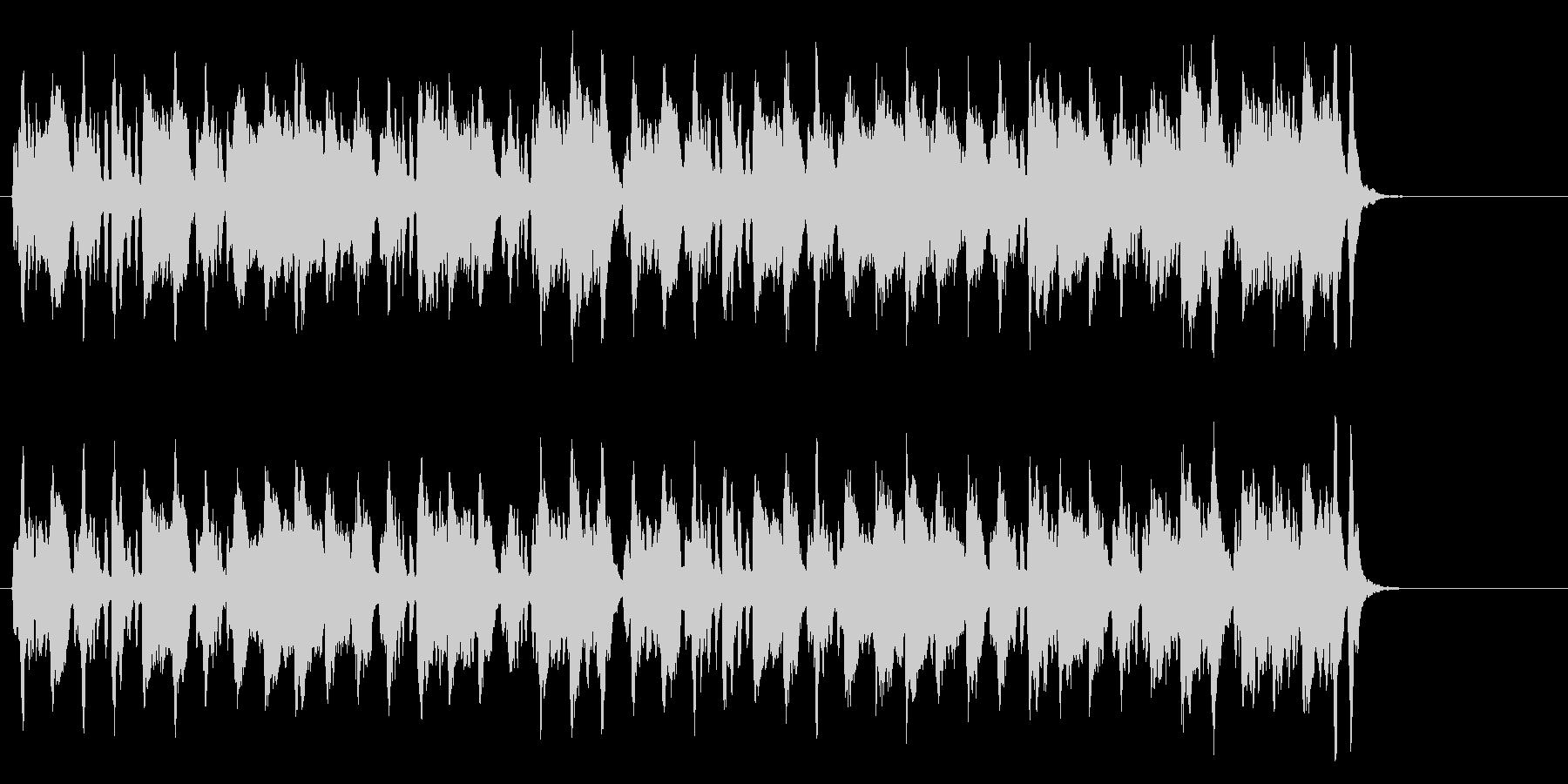 メルヘン・タッチののどかなクラシックの未再生の波形