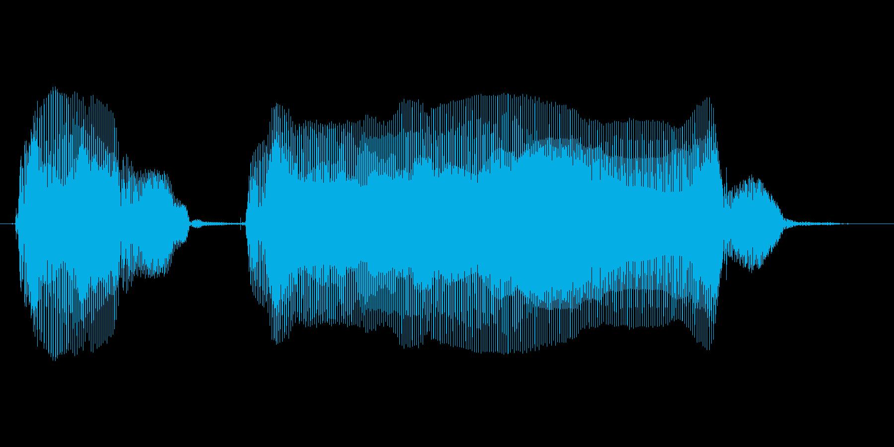 バイバーイの再生済みの波形