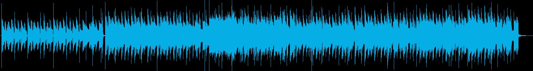 シンプルさが動画配信にぴったりの再生済みの波形