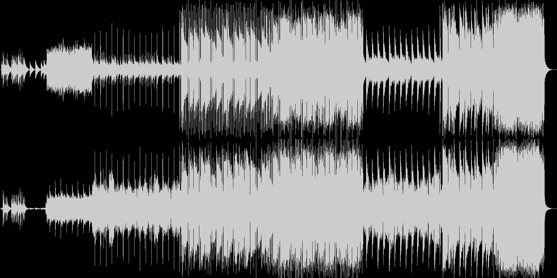 綺麗なオルゴールのメロディーのバラードの未再生の波形