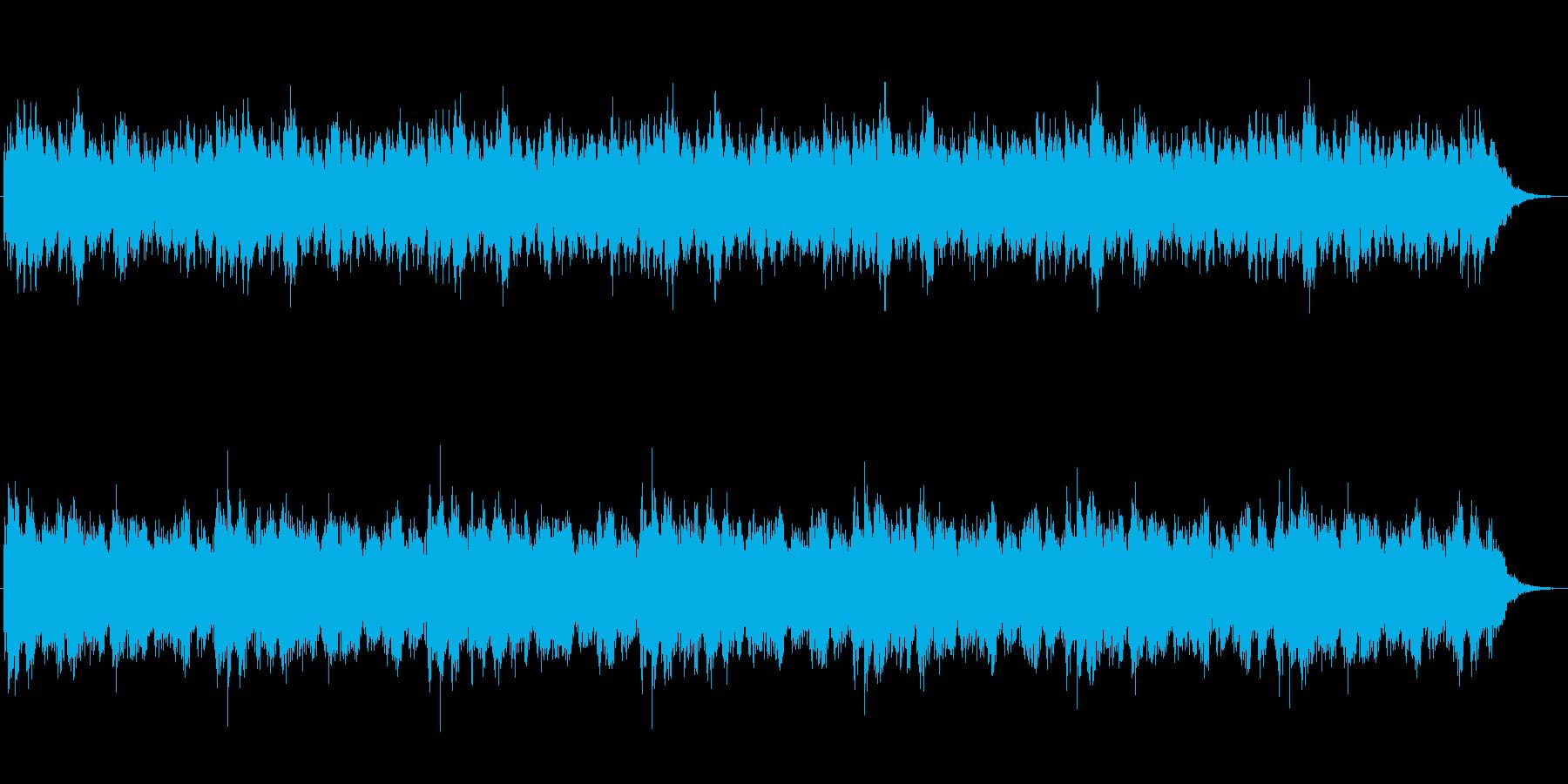 【BGM】怖い話、怪談、心霊動画用BGMの再生済みの波形