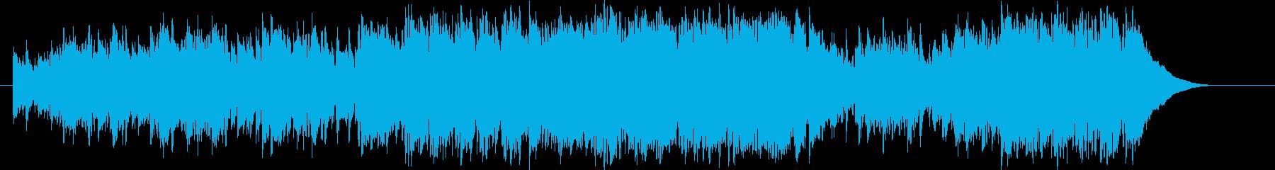 軽快なストロークが爽やかなアコギ曲の再生済みの波形