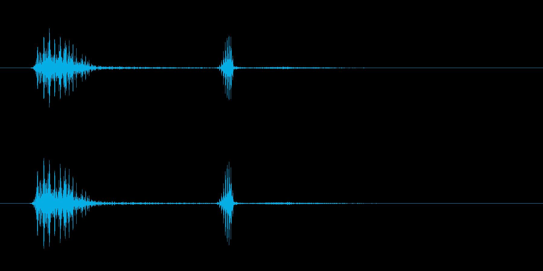 クァッパ!クセになるスワイプ音。の再生済みの波形