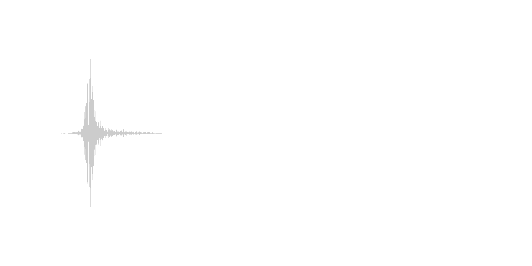 ヒュッ(素振り、ミス、スイング、高め)の未再生の波形