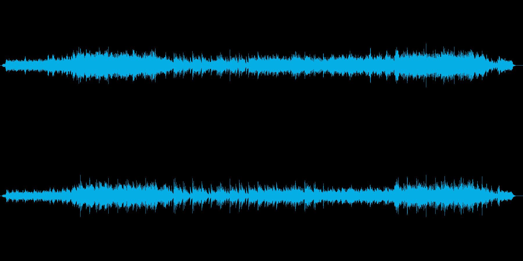 壮大なストリングスのしらべの再生済みの波形