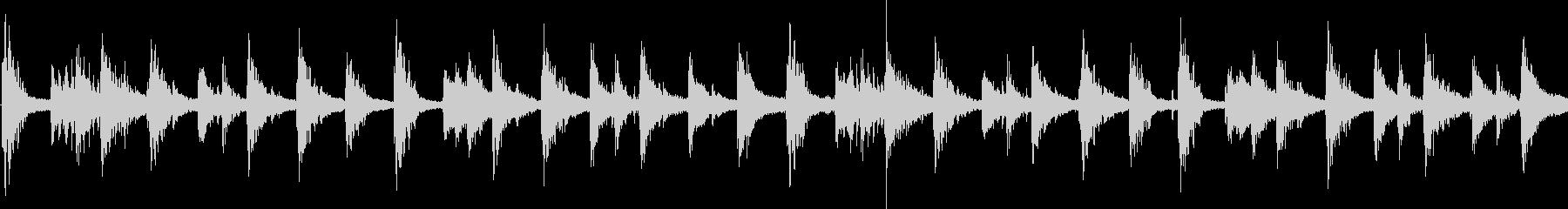 エスニック風のシンセジングル_ループの未再生の波形