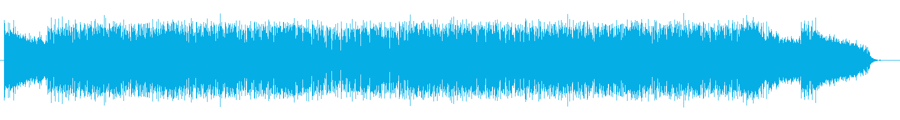 軽快でリズミカルなテクノサウンドの再生済みの波形