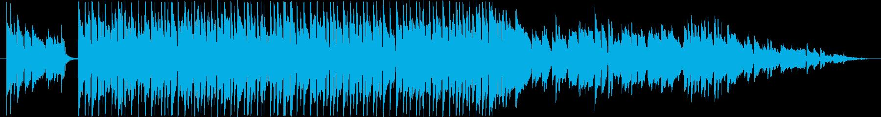 夏休みの昼下がりのイメージの再生済みの波形