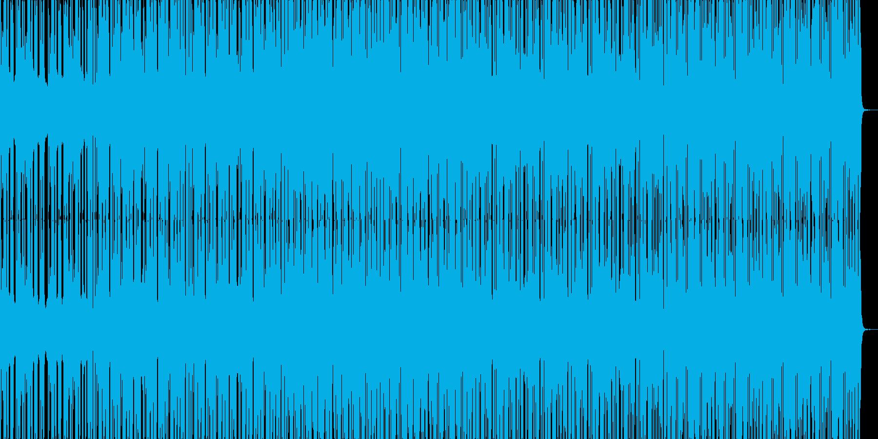 HIP HOP BEAT 02の再生済みの波形