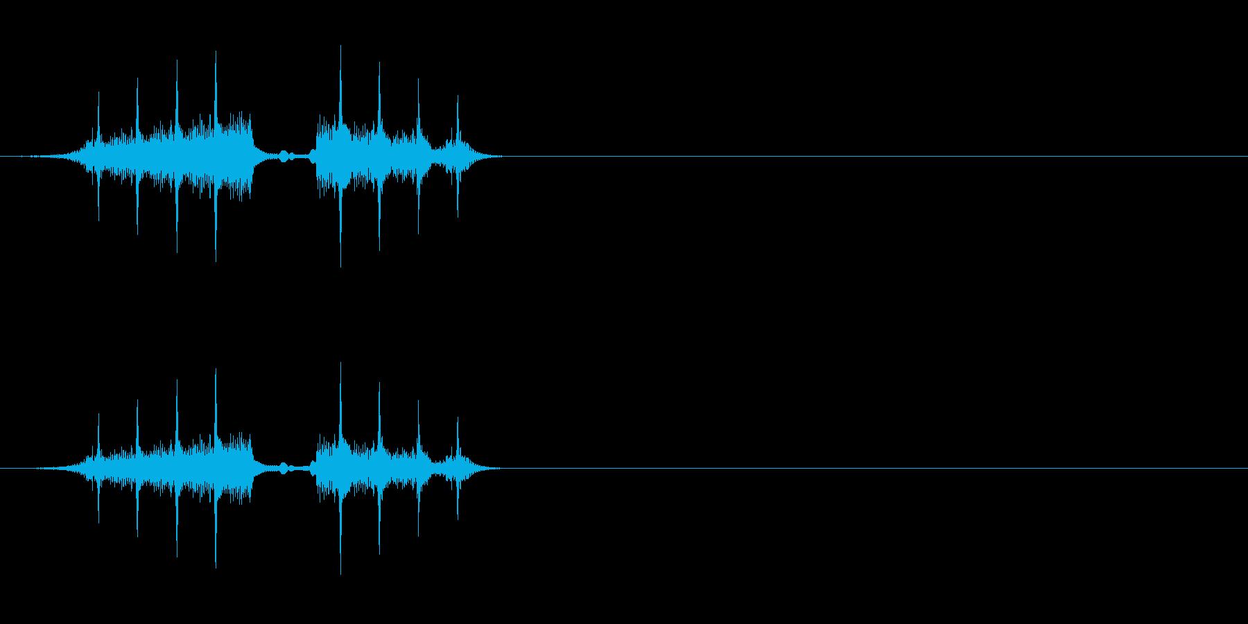SF系ロールの再生済みの波形