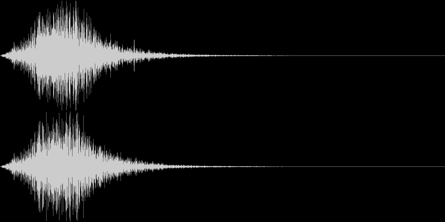 Battle 戦闘エフェクト音 9の未再生の波形