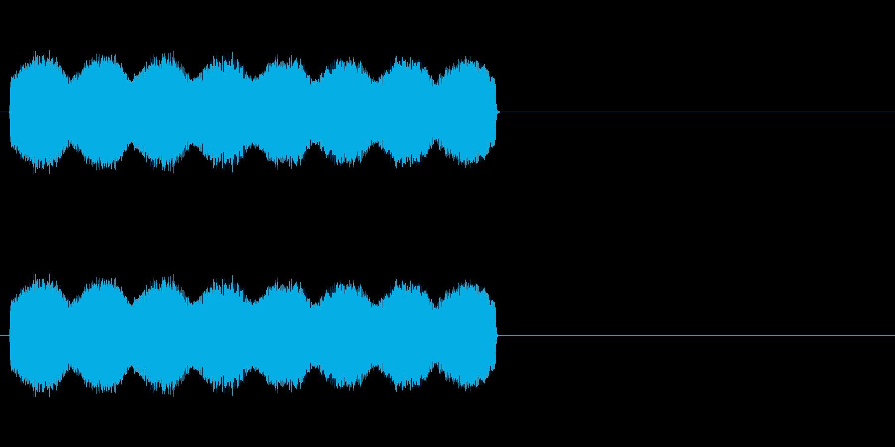 ゴニョゴニョ・・・(放送禁止、伏せ音)の再生済みの波形