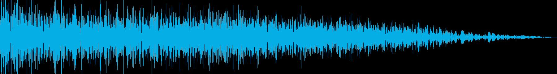 ロボット足音 タイプ12の再生済みの波形
