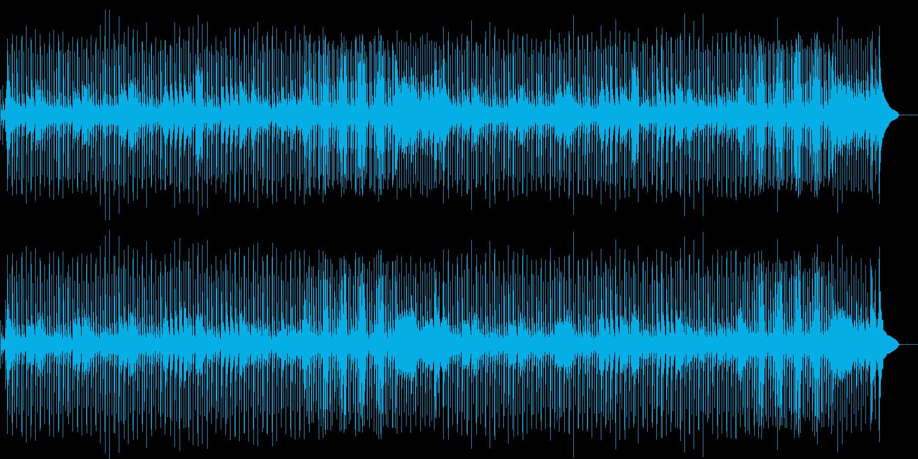 ミステリー調のマイナー・ドキュメントの再生済みの波形