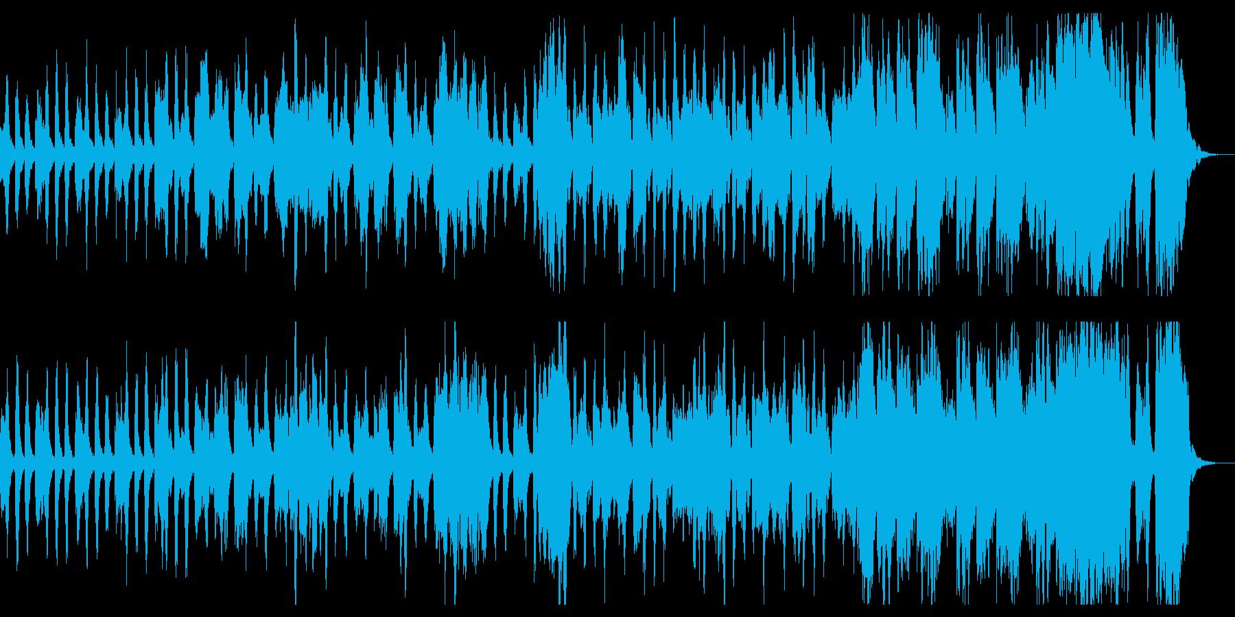 小さなオーケストラの明るく楽しいマーチの再生済みの波形