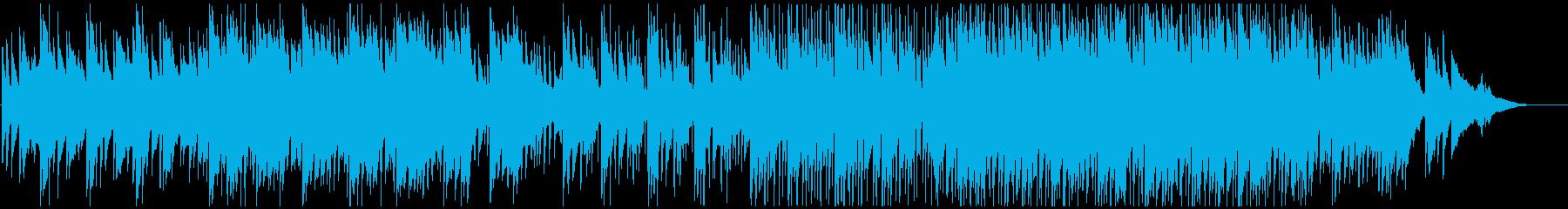 企業用爽やか感動的しっとりポップロックの再生済みの波形