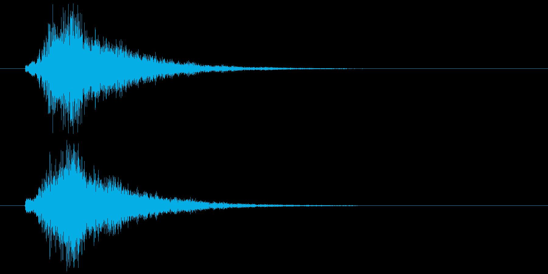 テロップ用_Bellの再生済みの波形