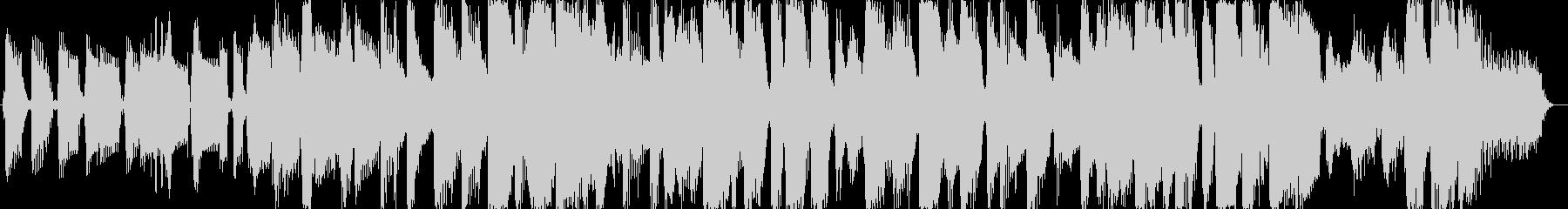 いたずらっ子達のイメージBGMの未再生の波形