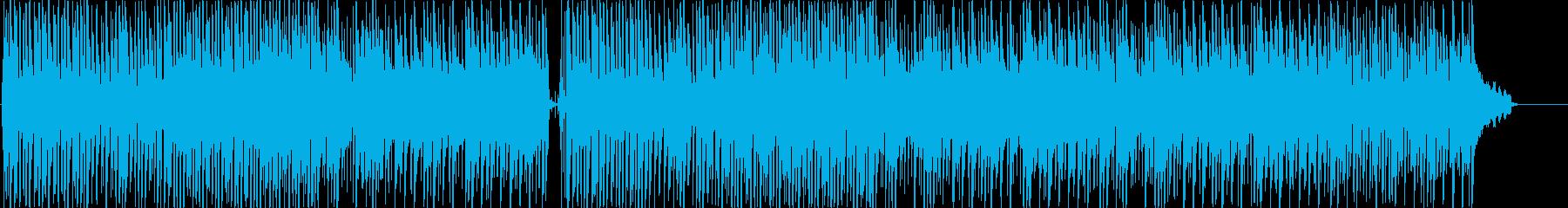 琴のほのぼのとした感じのゆっくりした曲調の再生済みの波形