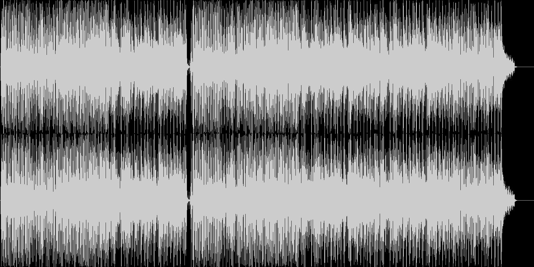 琴のほのぼのとした感じのゆっくりした曲調の未再生の波形