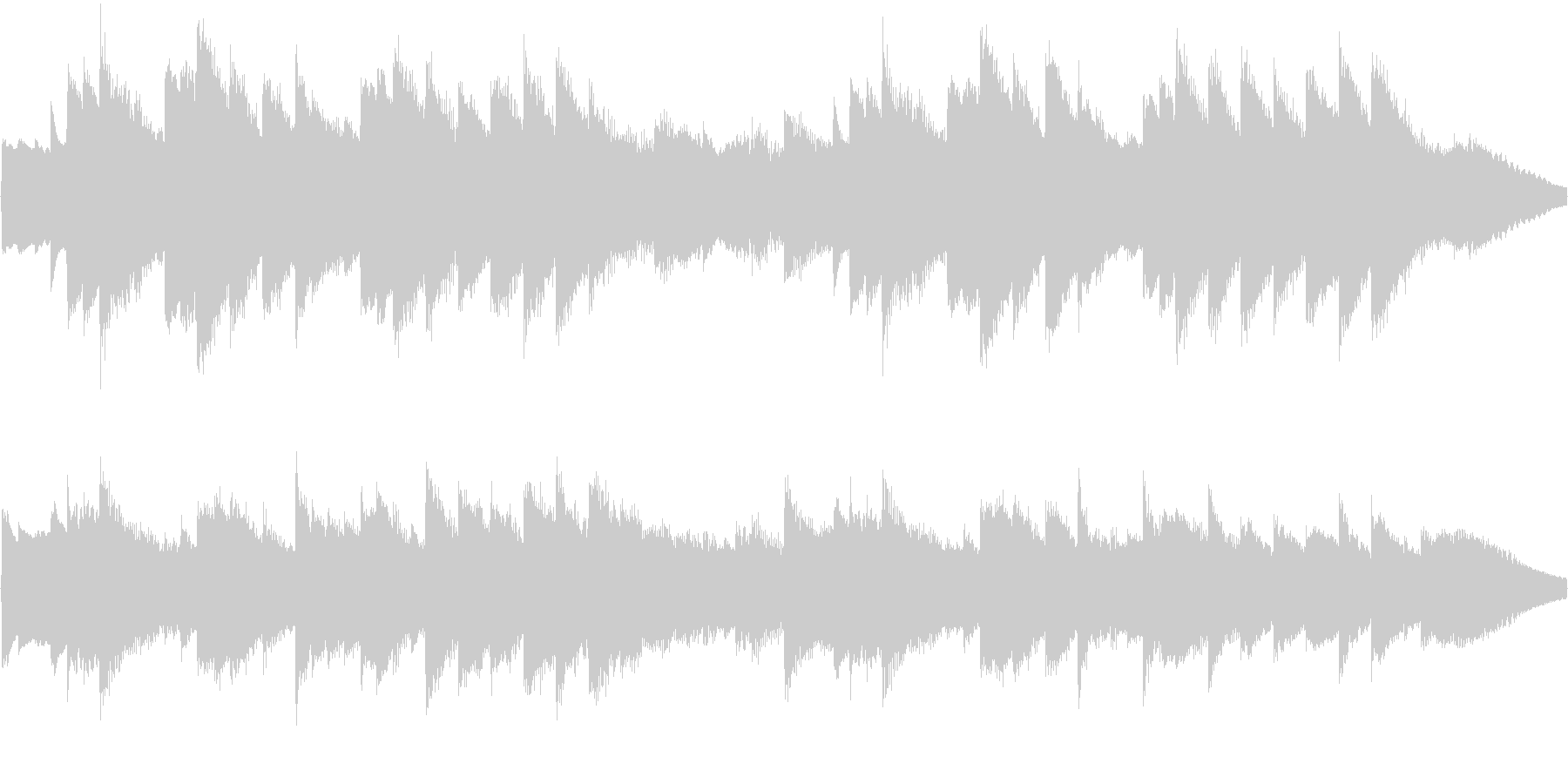 オルゴールの曲で、着信音やオルゴールの…の未再生の波形