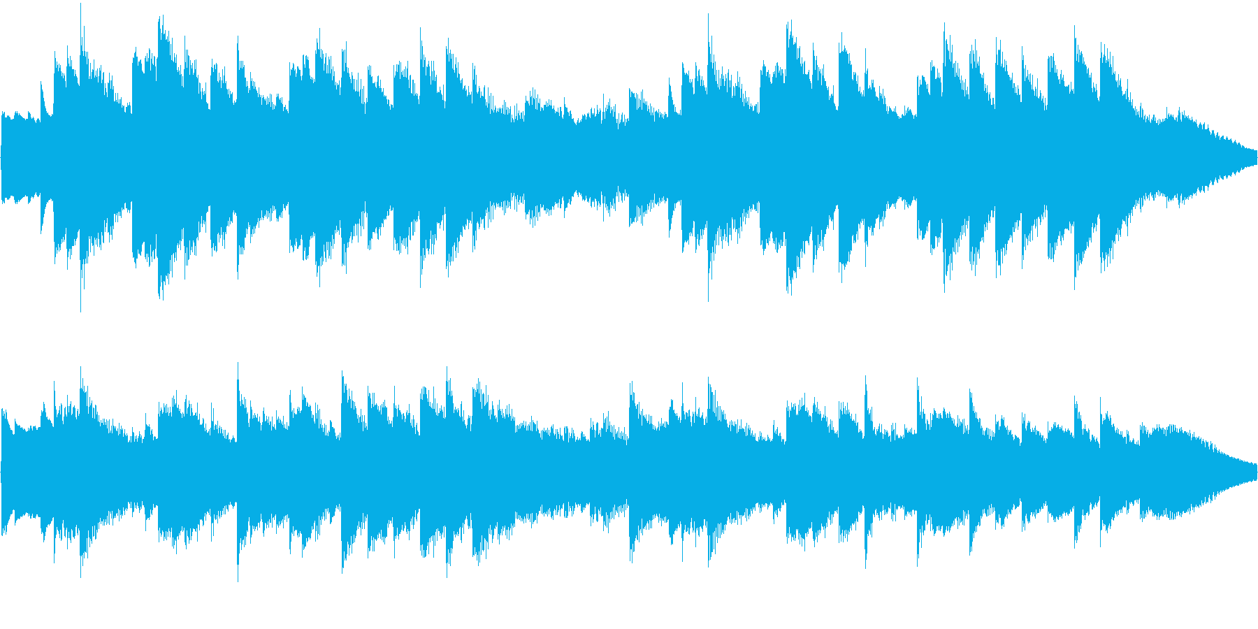 オルゴールの曲で、着信音やオルゴールの…の再生済みの波形