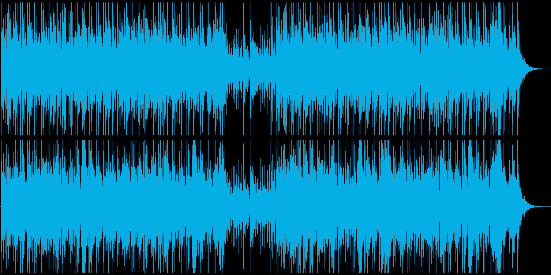 戦闘シーン。幻想的。オーケストラ風の再生済みの波形