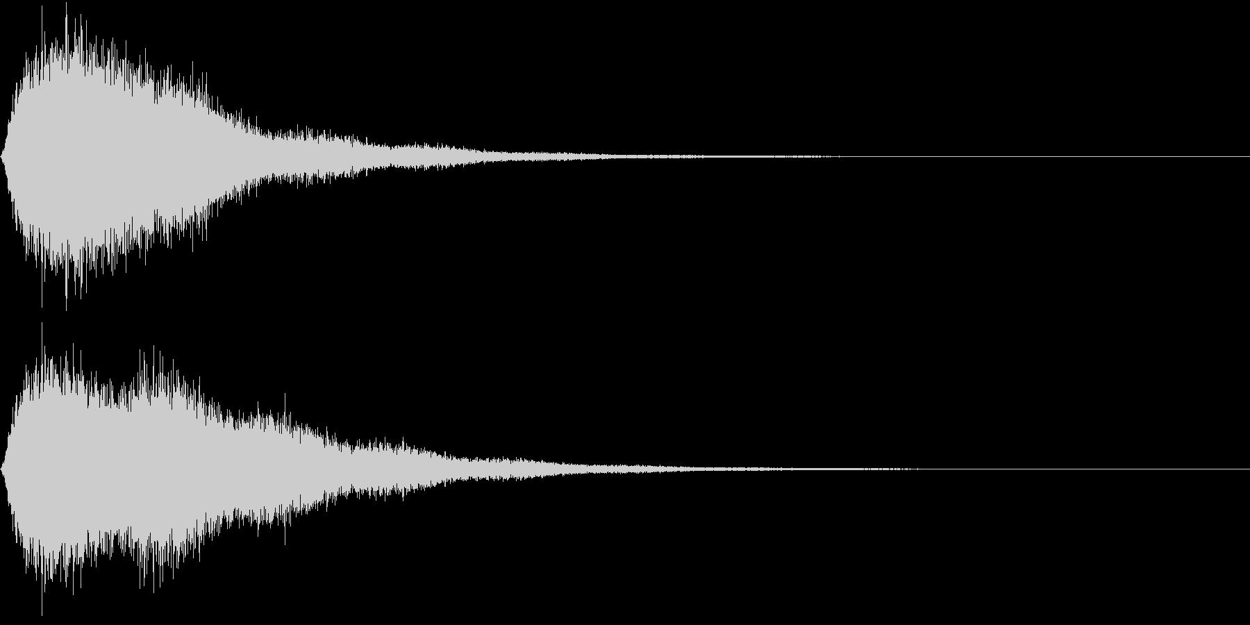 SE 一瞬の隙 攻撃 シャドー 落下にもの未再生の波形