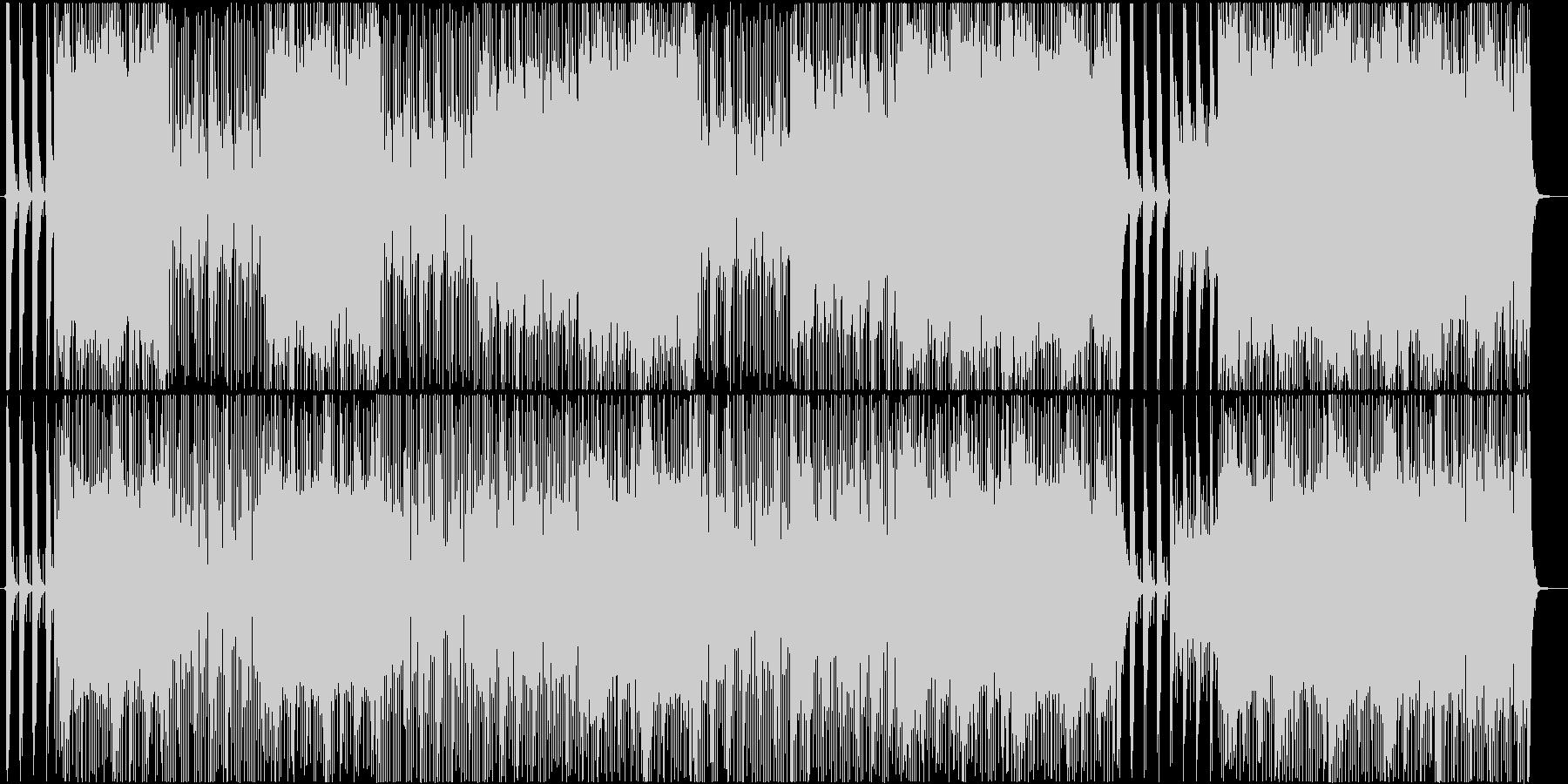 スリル満点のスカ風ロック♪の未再生の波形