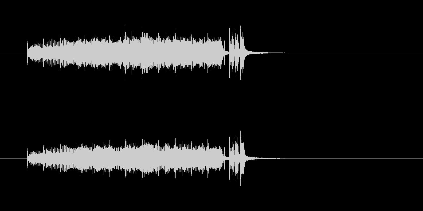 金管楽器 壮大 報道 ニュース わくわくの未再生の波形