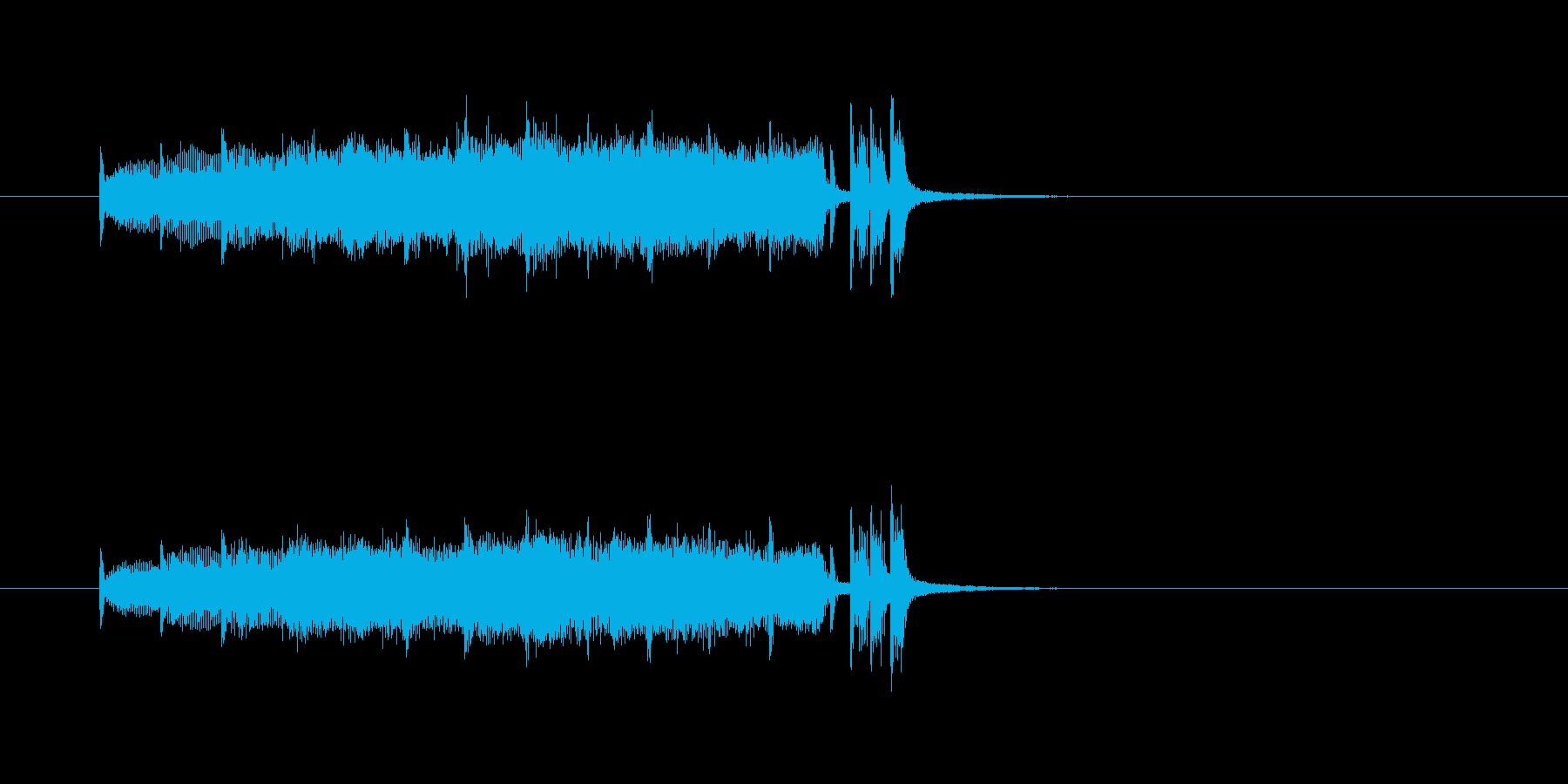 金管楽器 壮大 報道 ニュース わくわくの再生済みの波形