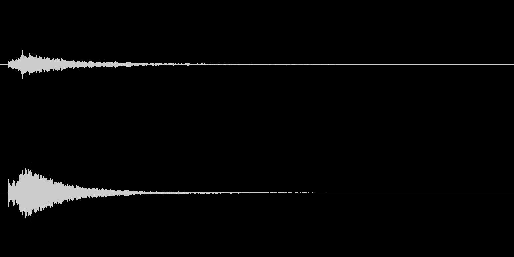 キラキラ系_100の未再生の波形