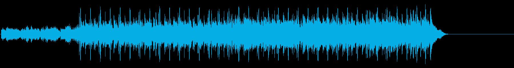 軽快なフュージョン(イントロ~A~エ…)の再生済みの波形