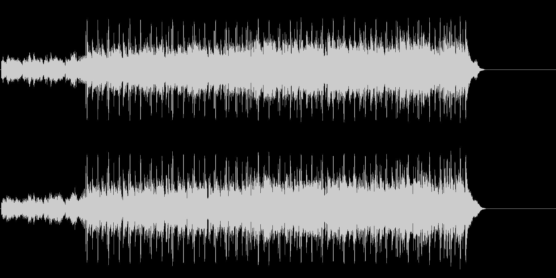 軽快なフュージョン(イントロ~A~エ…)の未再生の波形