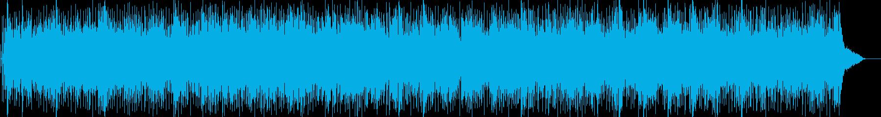 爽やかなアコギによる希望に満ちたBGMの再生済みの波形