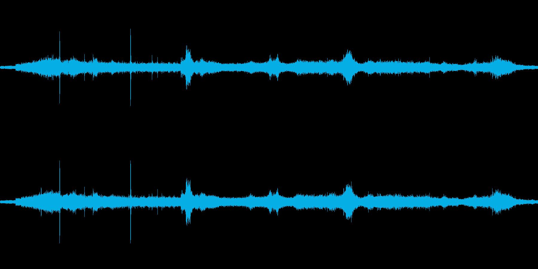 【生音】通行音 - 4 郵便配達バイク…の再生済みの波形