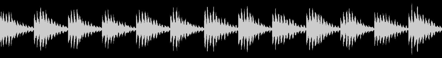 シンキングタイム シンセ 保留音 ループの未再生の波形