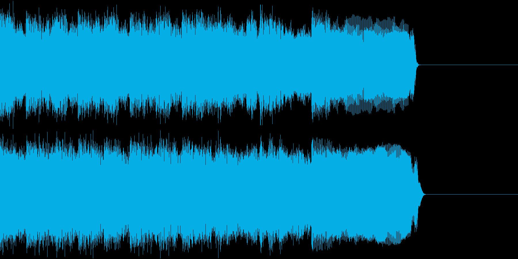 メタル ジングル ザクザク 生演奏の再生済みの波形