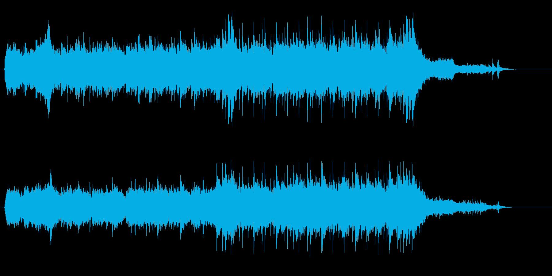 繊細な響きのギター・バラードの再生済みの波形