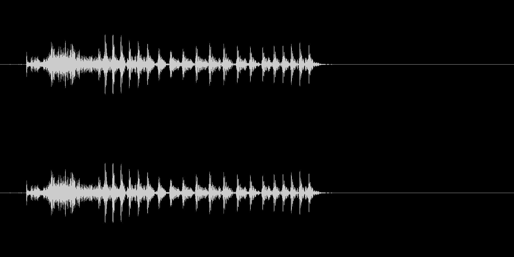 チュウ 九(9) 中国語(北京語) 男の未再生の波形