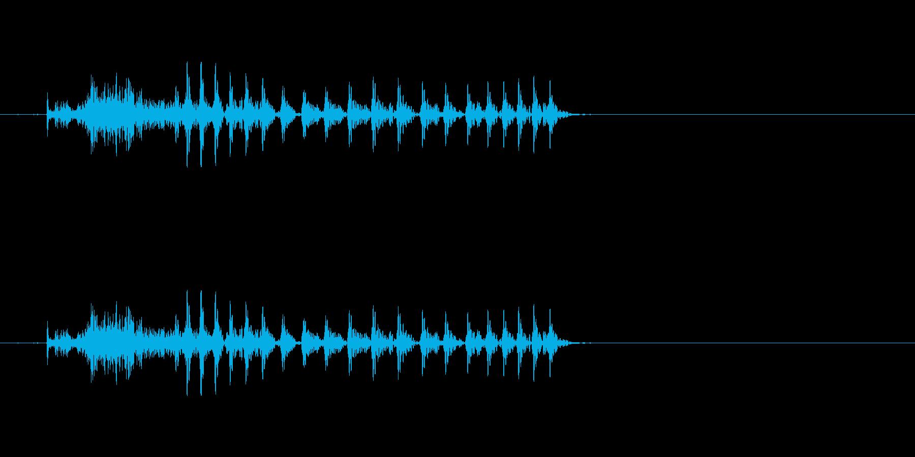チュウ 九(9) 中国語(北京語) 男の再生済みの波形