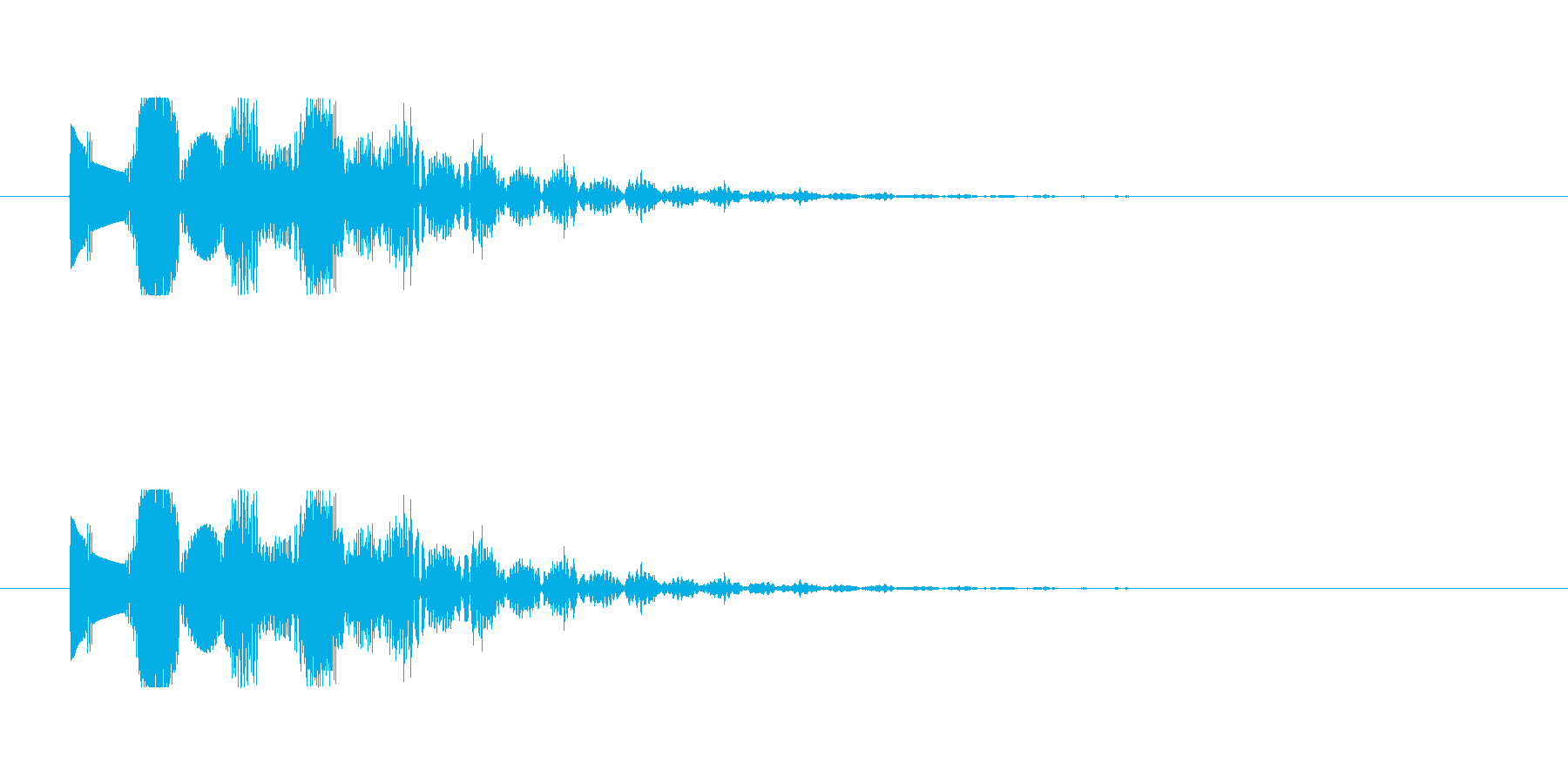 【魔法01-1】の再生済みの波形