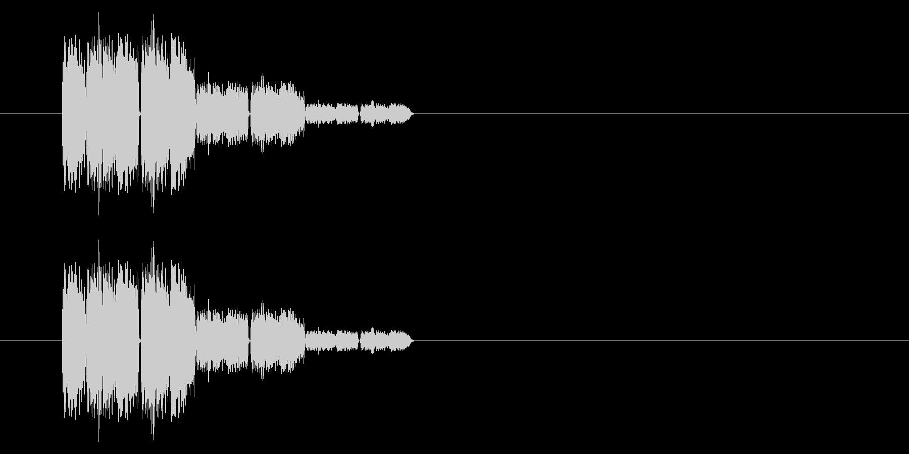 SNES 格闘02-10(ガラス)の未再生の波形
